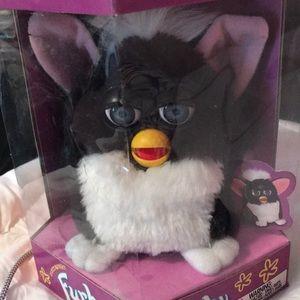 NWT Original Furby: black and white